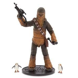 Star Wars Elite Series Chewbacca & Porgs Neuf
