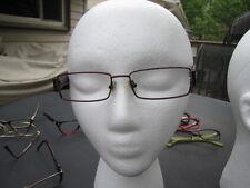 Tommy Hilfiger Eyeglasses TH 3384 Red Maroon RX Glasses Metal Plastic Frames
