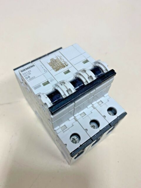 amm 10KA Siemens 5SY4 320-8 20A Circuit Breaker 400V NEW 3-Pole