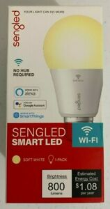 10 Pack Sengled Smart Bluetooth Mesh Dimmable LED Light Bulb Works with Alexa