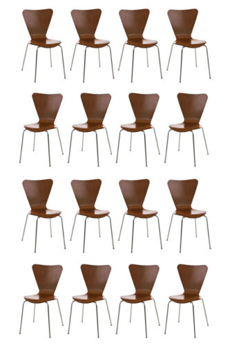 16x Besucherstuhl Calisto Stapelstuhl Konferenzstuhl Warteraumstuhl Küchenstuhl
