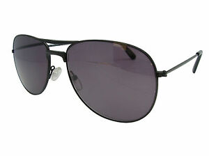 6d996538a7a Sun Readers Designer Jet Black Pilot Style UV Protected Tinted ...