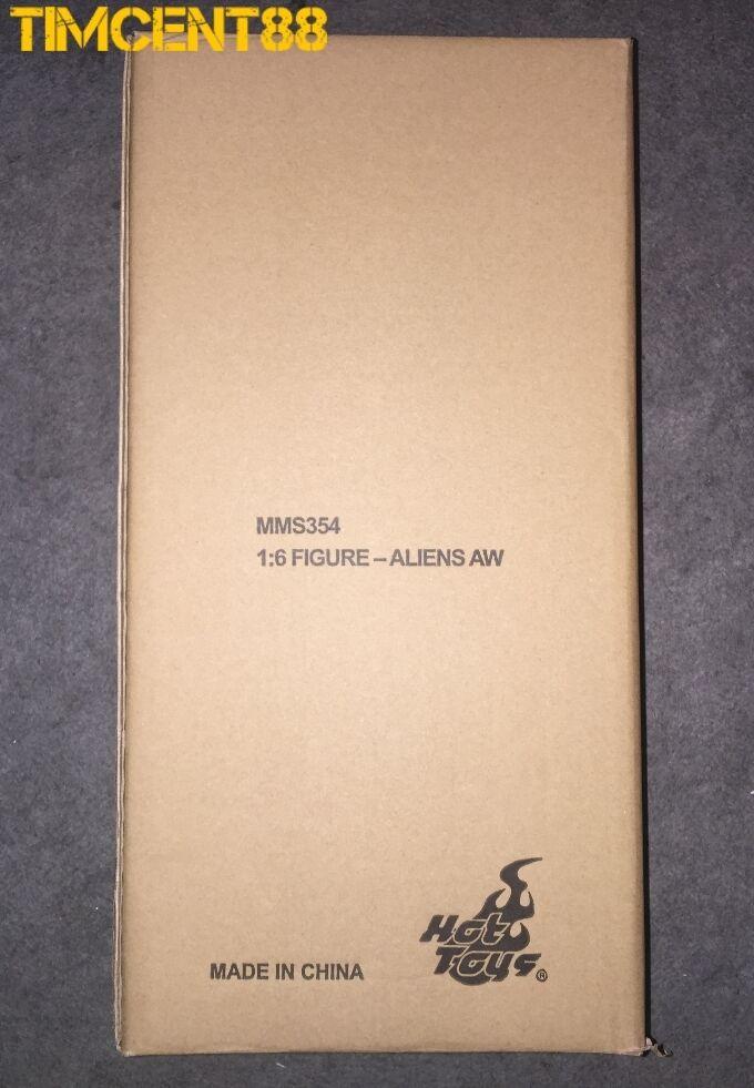 listo Hot Toys MMS354 Aliens Alien Warrior 16 Figura De Colección 35cm Nuevo