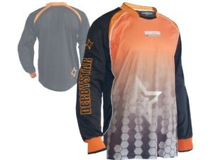 Derbystar-Catari-Goalkeeper-Shirt-orange-Torwart-Jersey-Torhueter-Trikot-XL-XXL