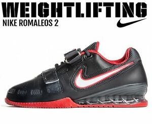 22a6448bee46cd Image is loading NIKE-Romaleos-2-Weightlifting-Powerlifting-Shoes -Gewichtheben-Schuhe
