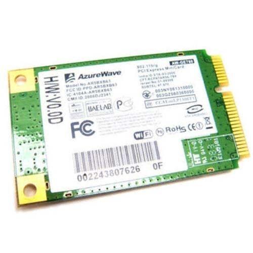 ATHEROS AR5BXB63 AR5007EG AR2425 MINI PCI-E WIRELESS WIFI G CARD