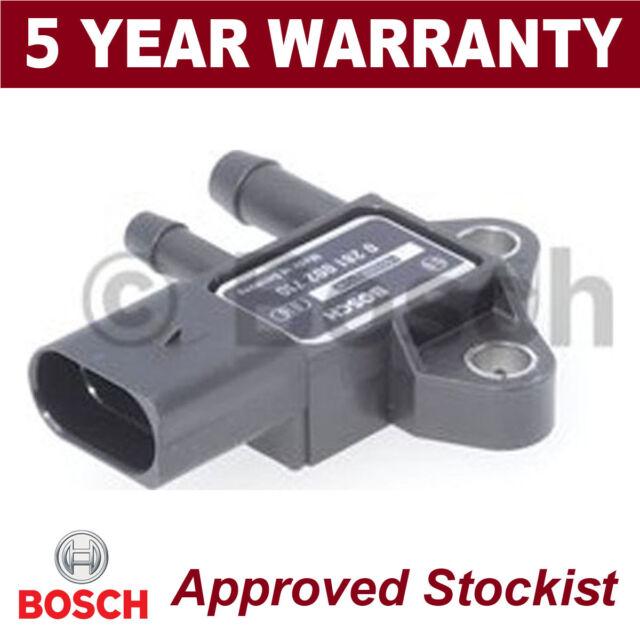 Bosch DPF Escape Sensor de Presión Filtro de Partículas Mapa 0281002710