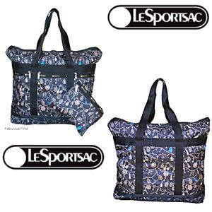 LeSportsac-Tassel-Dazzle-Large-Travel-Tote-Cosmetic-Bag-NWT-Free-Ship-Jeweled