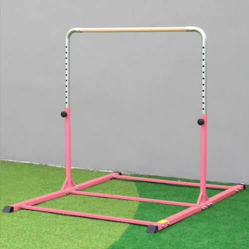 Sporting Gym 4FT 6FT High Gymnastics Training Bar Equipment Steel Hardwood Bars
