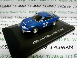 RE63G-Voiture-1-43-eligor-RENAULT-Alpine-A110-Rallye-de-l-039-AGACI-1963