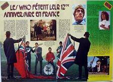 THE WHO => 2  pages 1976 french CLIPPING_ROGER DALTREY / COUPURE DE PRESSE