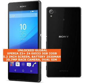 Sony Xperia Z3 Plus Z4 E6533 3gb 32gb Octa Core 20 7mp Hdr 5 2