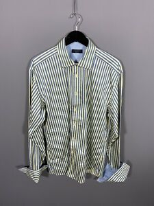 TED-BAKER-ARCHIVE-Shirt-17-Striped-Great-Condition-Men-s