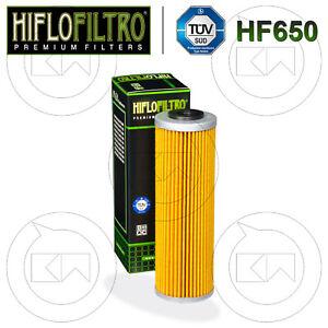 oil filtre KTM 990 Adventure 2007-2013 Noir Hiflo Filtro Filtre à huile hf650