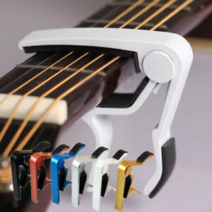Quick-Change-Key-Guitar-Capo-For-Acoustic-Electric-Classic-Trigger-Tune-Clamp