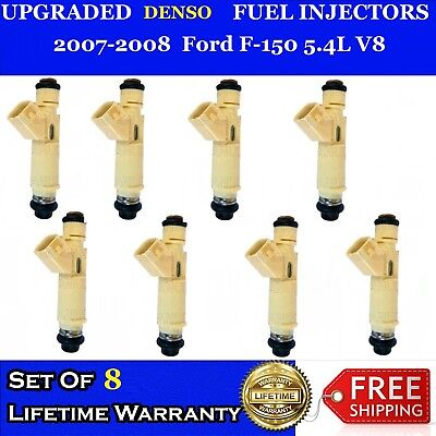 "8x /""PERFORMANCE INCREASE/"" 12 Hole BOSCH Fuel Injectors 04-09 Ford E250 5.4L"