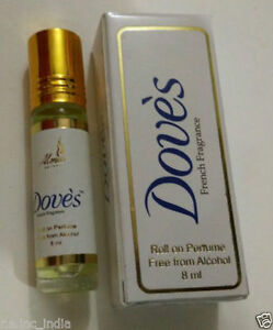 Details about 24 x ALMAS PERFUME WITH DOVE S 8ML FRENCH FRAGRANCE .