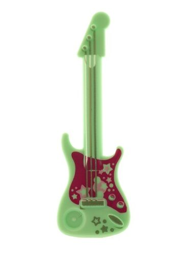 Lego Friends  Electric Guitar Aqua with Pink Print  for  Minifigs NEW