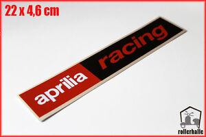 aprilia racing motorsport aufkleber sticker f r motorrad. Black Bedroom Furniture Sets. Home Design Ideas