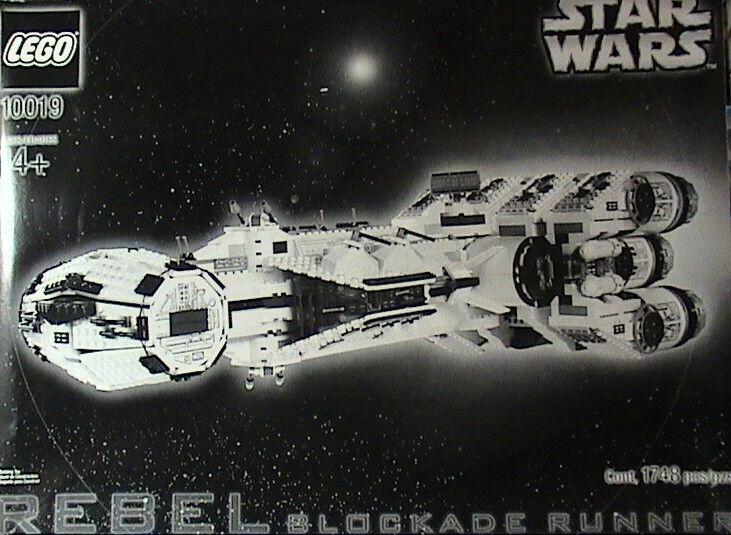 Nuevo Lego Star Wars 10019 Rebel corrojoor bloqueo UCS sin usar y en caja sellada