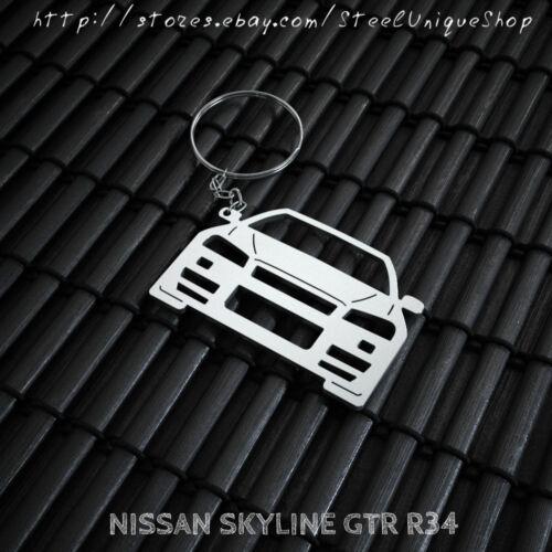 Nissan Skyline GTR R34 Keychain
