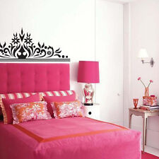 Big Size Bed Head Flower Wall Sticker Home Bedroom Kids Room Decor DIY