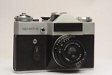 EXC ZENIT-E Soviet SLR camera with Industar-50-2 50mm f/3,5 lens M42 mount