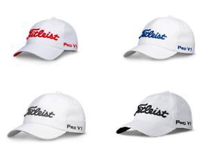 Titleist Tour Pro V1 FJ 2018 Tour Titleist Performance Golf Hat Men Strapback Cap OSFM Defect 836351