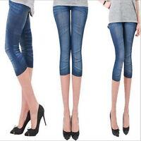 2016 Summer Women Jeans Skinny Jeggings Stretchy Slim Leggings Skinny Pants Z チ