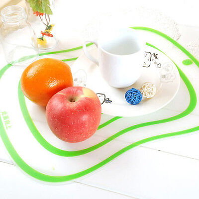 4Color Flexible Fruit Vegetable Meat Cutting Chopping Board Mat Kitchen Tool NEW