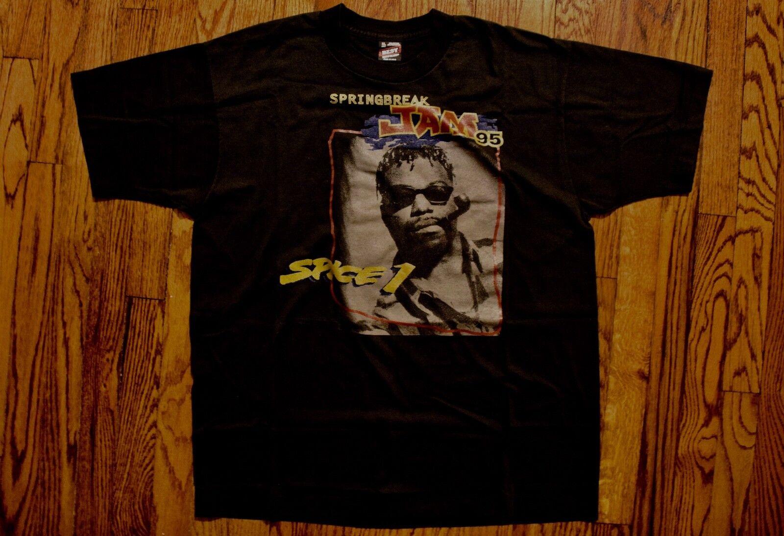 1995 Spice 1 Spring Break Amerikkka's nightmare T-shirt vtg 90s rap hip hop XL