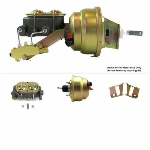 "1955-57 Chevy Bel Air FW Mount Pwr 8/"" Dual Brake Booster Kit Drum//Drum 150 Post"