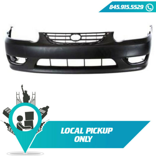 LOCAL PICKUP 2001-2002 FITS TOYOTA COROLLA FRONT BUMPER COVER PRIMED TO1000217