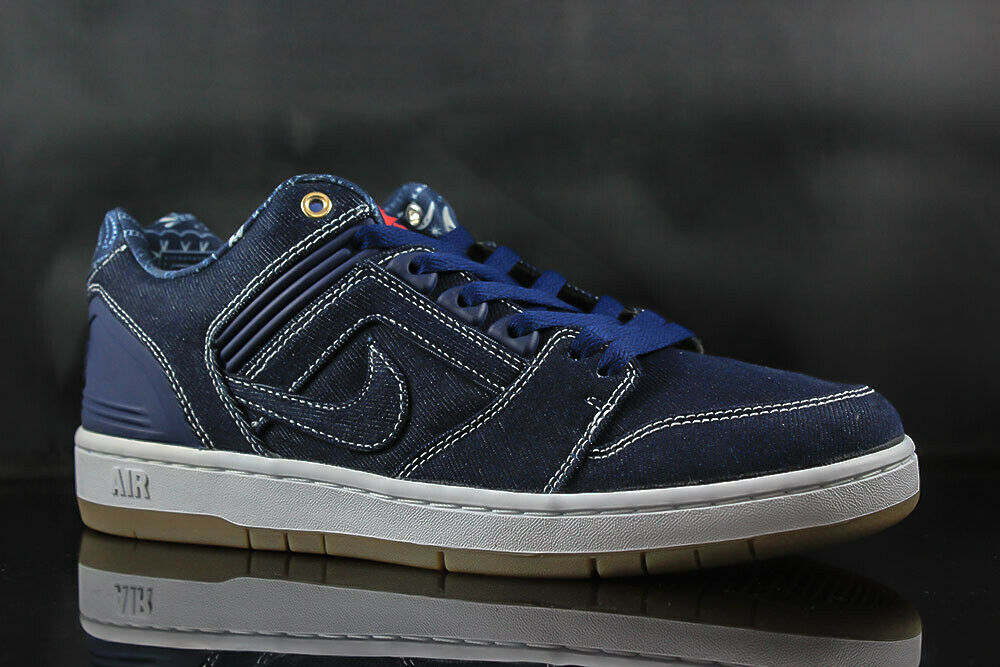 NIKE SB AIR FORCE II LOW AO0298-441 BINARY blueE WHITE SIZE  11