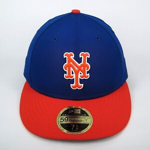 ef63470db5f884 New Era Cap Men's MLB New York Mets Batting Practice 5950 Fitted Hat ...