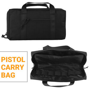 Handgun-Carry-Bag-Case-Mag-Pouch-Portable-Military-Hunting-Universal-Gun-Bag