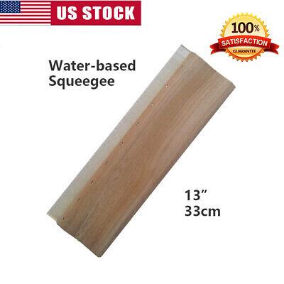 """1pc 6.5 /""""  Silk Screen Printing Squeegee Ink Scraper Scratch Board 65 durometers"""