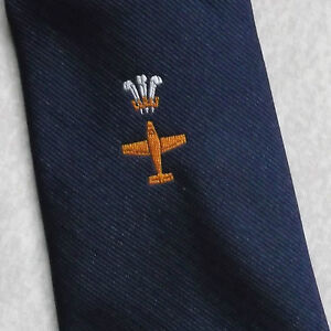 VINTAGE-DEL-REGGIMENTO-Cravatta-Da-Uomo-Cravatta-Club-aeroplano-pilota-Aviazione-Compagnia-Aerea