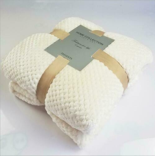 2020  Microfaserdecke Flanell Decke Kuscheldecke Sofadecke Überwurf Heiß neu