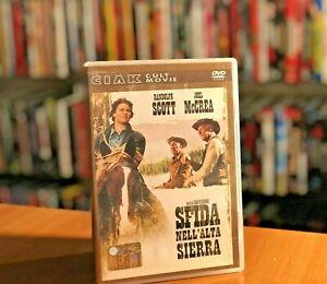 SFIDA NELL'ALTA SIERRA (1962) Scott McCrea WESTERN SAM PECKINPAH DVD COME NUOVO