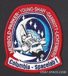 VINTAGE-ORIGINAL-LION-BROS-STS-9-Columbia-NASA-SPACE-SHUTTLE-Mission-PATCH
