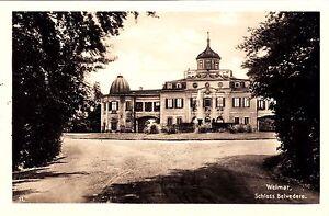 Weimar , Schloß Belvedere , Ansichtskarte - Rostock, Deutschland - Weimar , Schloß Belvedere , Ansichtskarte - Rostock, Deutschland