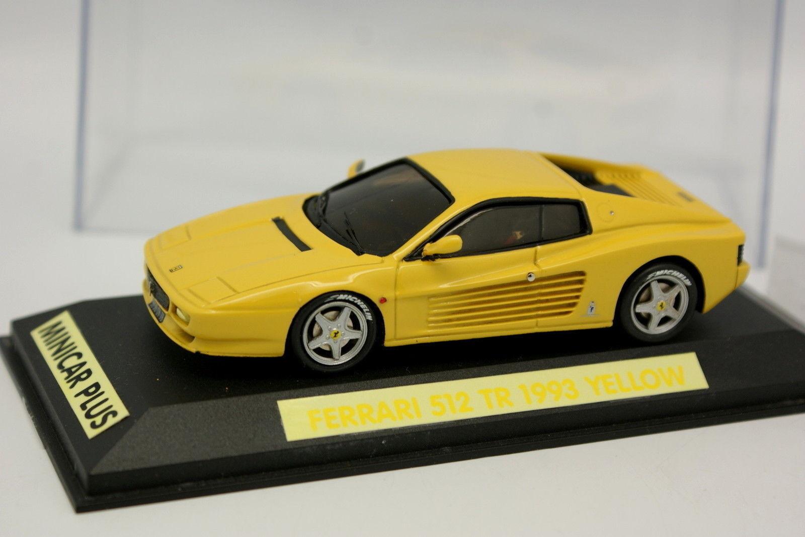 Minicar Plus 1 43 - Ferrari 512 TR Gialla