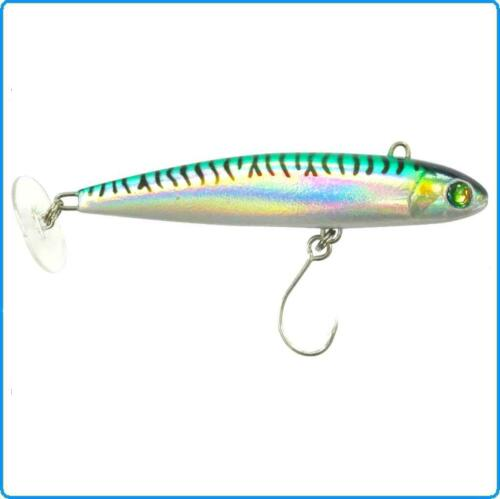 ARTIFICIALE FIIISH POWER TAIL 55g SW REAL MACKEREL SPINNING MARE PALAMITE TONNI