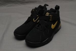 Details about NIKE FORCE MAX CB BLACKMETALLIC GOLD AJ7922 001