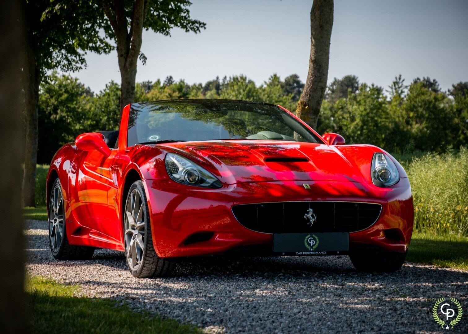 Ferrari California 4,3 F1 2d - 4.244 kr.