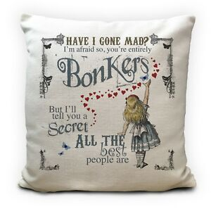 ALICE-IN-WONDERLAND-Cushion-Cover-Bonkers-Hearts-Mad-Hatter-Tea-Party-Prop-40-cm