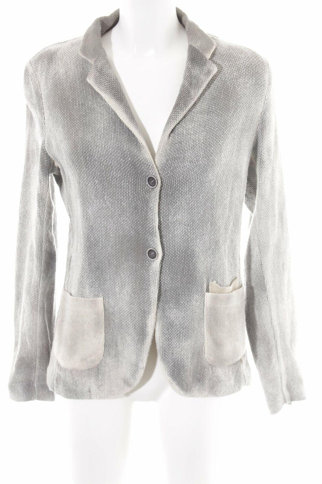 Giacca in maglia grigio-crema sfumatura Casual-look da donna tg. de 38 A MAGLIA ABBIGLIAMENTO