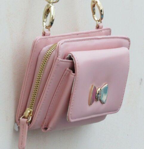 ❤ Piccola London Clutch Bnwot Pink Long Strap Baby tracolla Harrods Borsa qx51WXRdwX