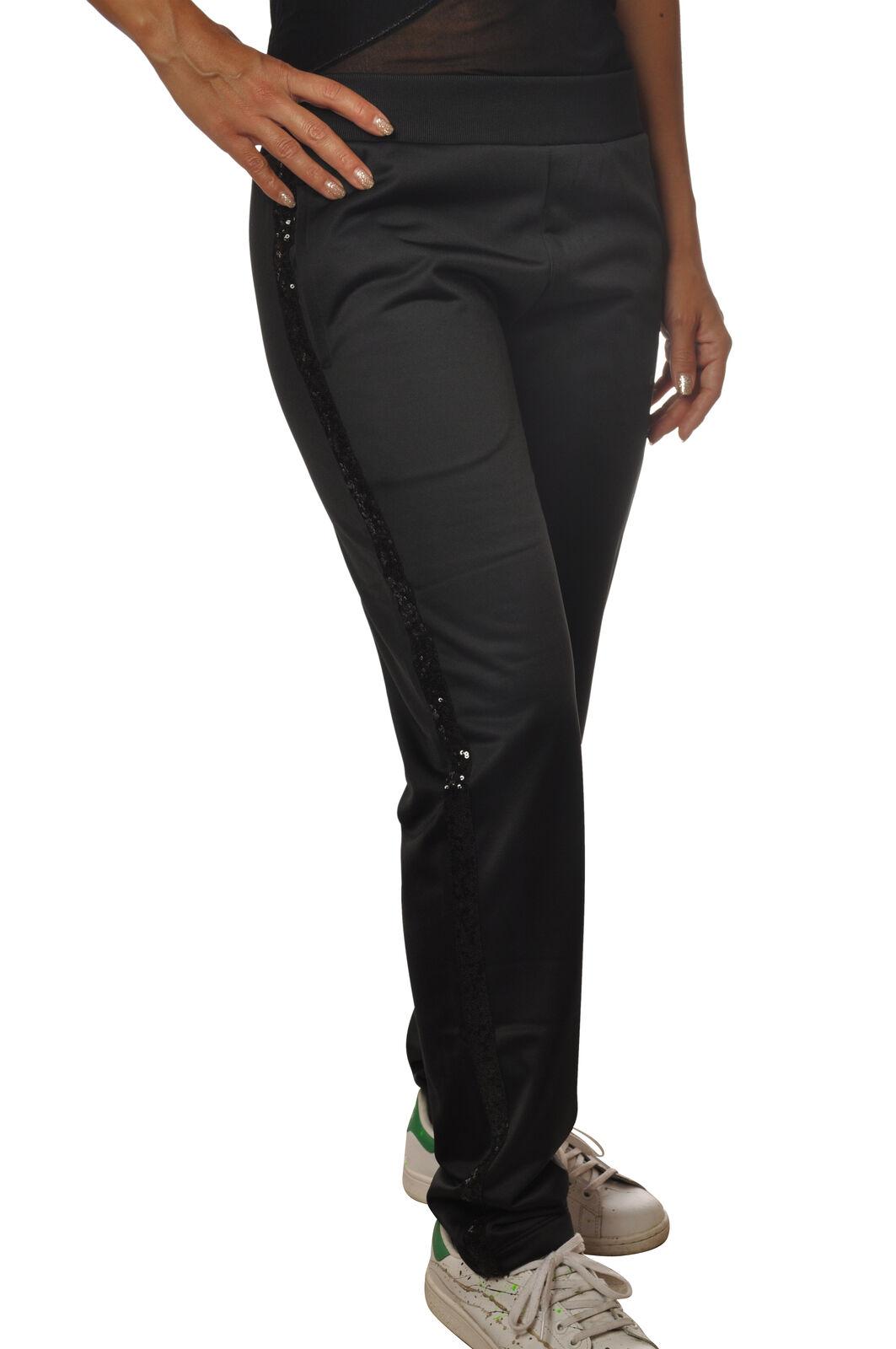 Gaëlle Paris - Pantaloni-Pantaloni felpa - Donna - Nero - 5594310C191841